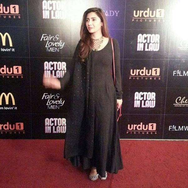 Pakistani Celebrities at the trailer launch of Actor in Law (9)