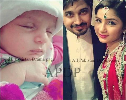 Pakistani Celebrities blessed with baby in 2016 (2)