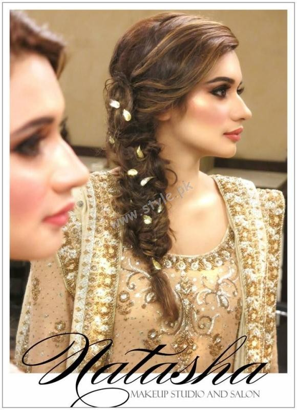 Pakistani Hairstyles for Eid 2016 05