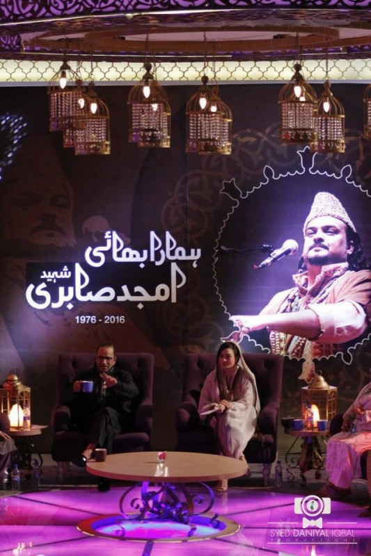 Pictures from Program Alvida Amjad Sabri (3)