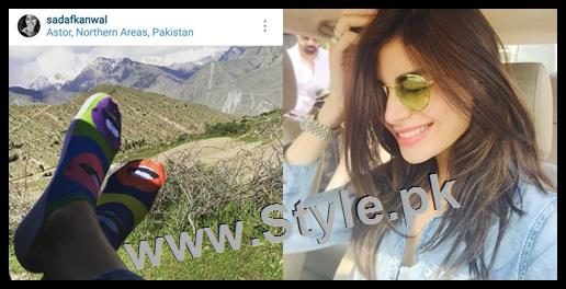 Top 5 Pakistani Celebrities who love capturing their shoes (3)
