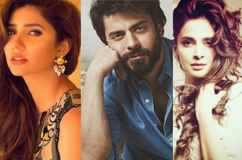 See Fawad Khan is threatened by Mahira Khan and Saba Qamar