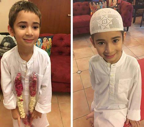 See Mahira Khan's son Azlan's first roza Kushai