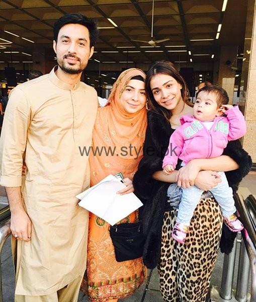 Family Pictures Of Beautiful Humaima Malik0011