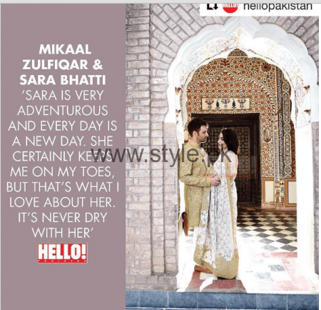 First Photoshoot of Mikal Zulfiqar and his wife for Hello Pakistan (5)