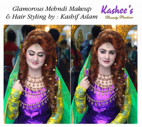 Bridal Mehndi Makeup by Kashee's