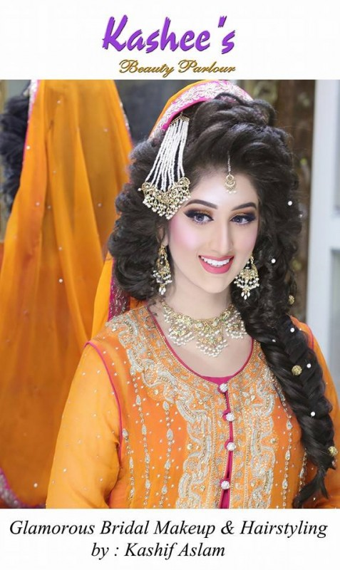 Glamorous Bridal Makeup Ideas For Mehndi