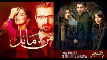 See Mann Mayal's rating is breaking Humsafar's record