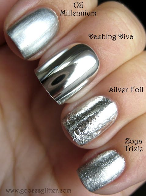 Mirror Nail Polish is much in fashion (5)