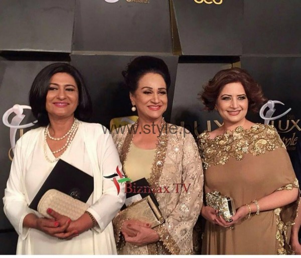 Pakistani Celebrities at Lux Style Awards 2016 (24)