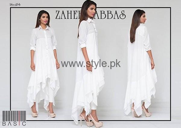 Zaheer Abbas Casual Dresses 2016 For Women003