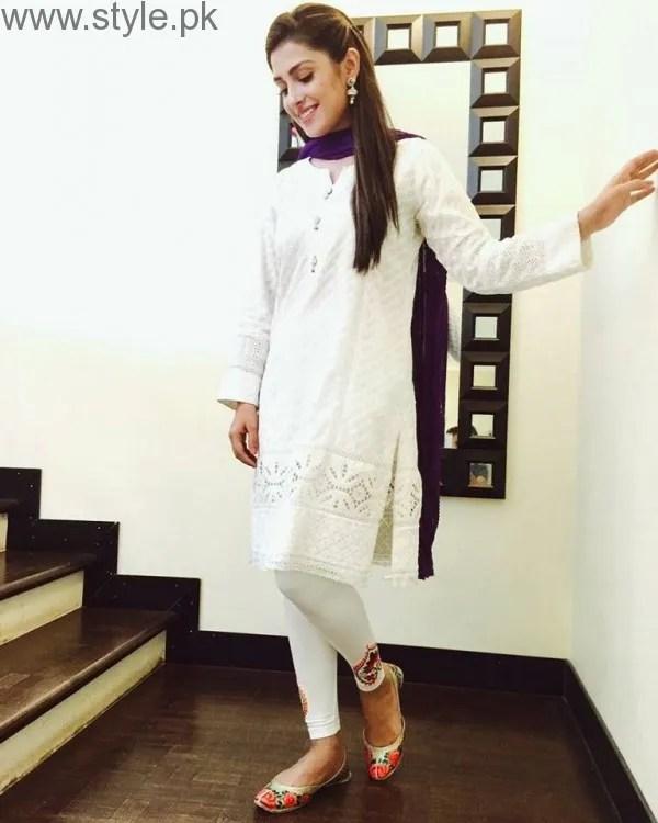 10 Times Ayeza Khan stunned in White dress (4)