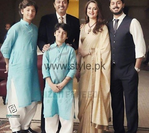 See Nauman Ejaz with his Family