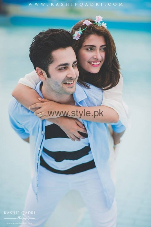 Ayeza Khan and Danish Taimoor Wedding Anniversary