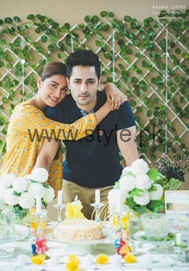 Ayeza Khan and Danish Taimoor at their second wedding anniversary (2)