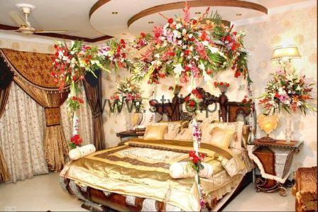 Bridal Wedding Room Decoration Ideas 2016 (6)