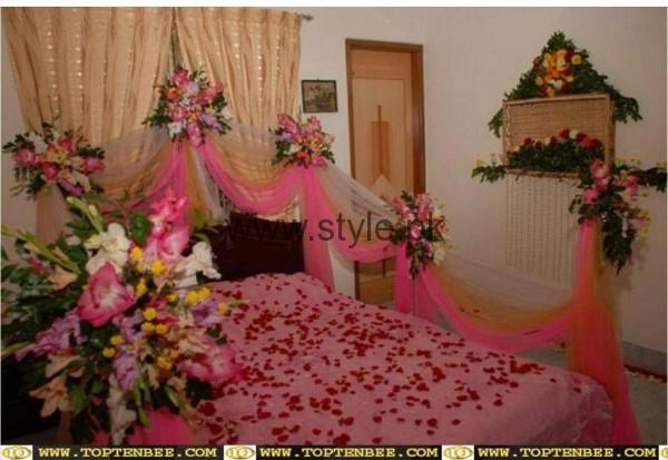 Bridal Wedding Room Decoration Ideas 2016 (7)