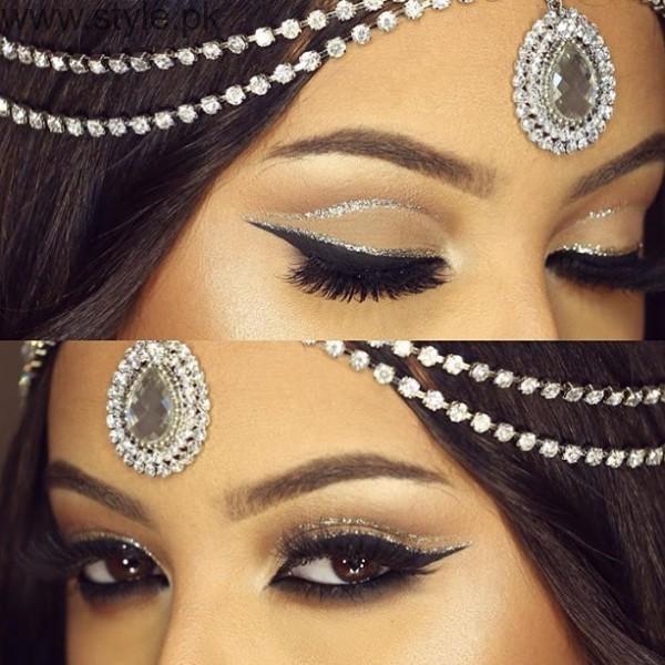 Colorful Eyeliner trends 2016 in Pakistan (15)
