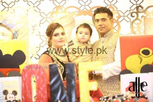 Cricketer Mohammad Sami's son's Birthday Celebrations (11)