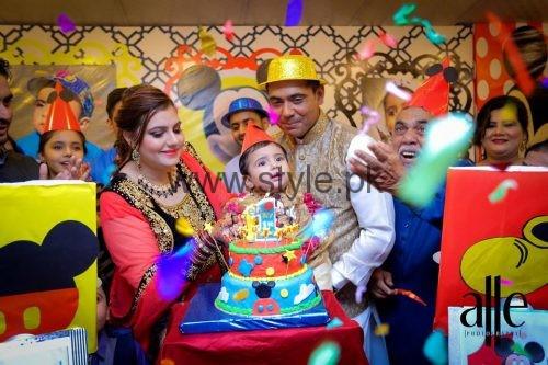 Cricketer Mohammad Sami's son's Birthday Celebrations (8)