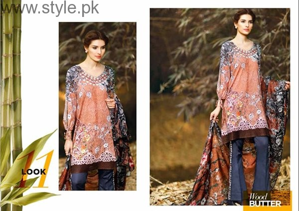Cross Stitch Cambric Dresses 2016 For Women001