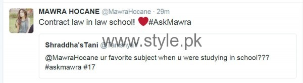 Fans asked strange Questions from Mawra Hocane in #AskMawra Session (14)