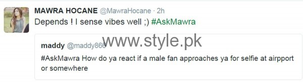 Fans asked strange Questions from Mawra Hocane in #AskMawra Session (6)