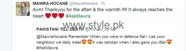 Fans asked strange Questions from Mawra Hocane in #AskMawra Session (8)