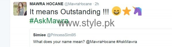 Fans asked strange Questions from Mawra Hocane in #AskMawra Session (9)