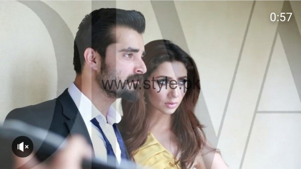 See Hamza Ali Abbasi and Mahira Khan are busy in their latest Photo Shoot