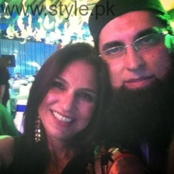 Junaid Jamshed With Actress