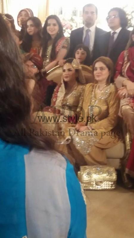 Junaid Jamshed's son got married (4)