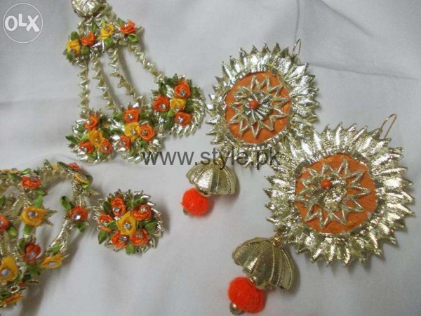 Latest Bridal Mehndi Jewellery 2016 (13)
