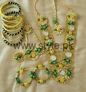 Latest Bridal Mehndi Jewellery 2016 (9)