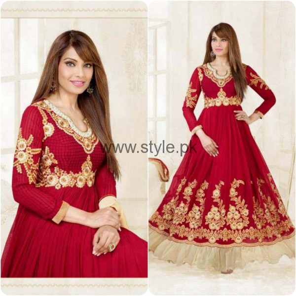 Latest Embroidered dresses 2016 for Newly Married girls (21)