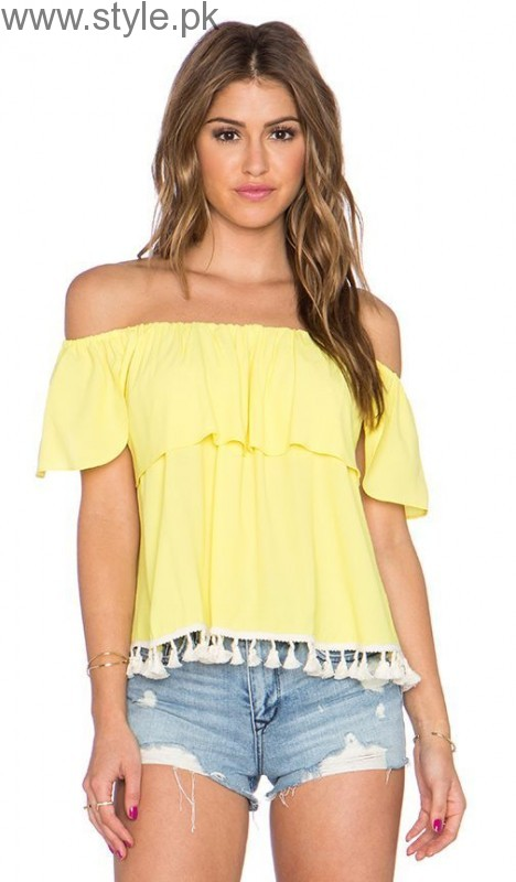 Latest Off-Shoulder Tops 2016 (24)