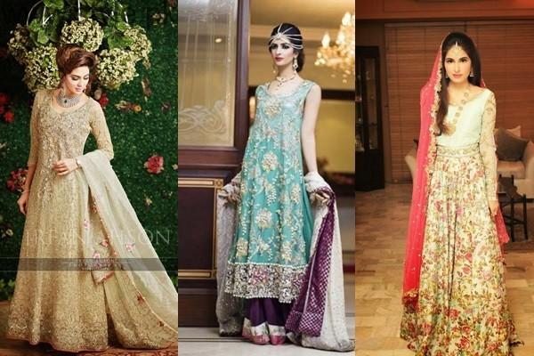 Pakistani Engagement Dresses 2017
