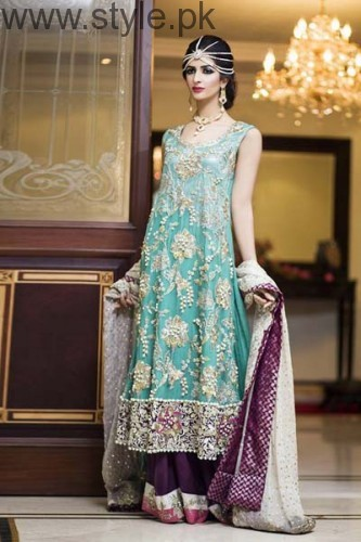 Latest Pakistani Engagement Dresses (16)