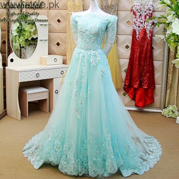 Latest Pakistani Engagement Dresses  (5)