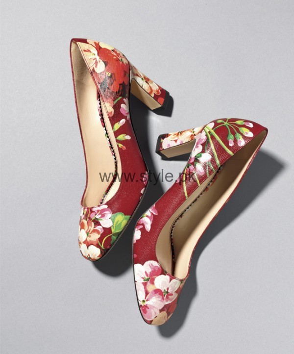 Latest Summers Floral Heels 2016 (12)