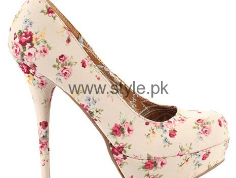 Latest Summers Floral Heels 2016 (14)