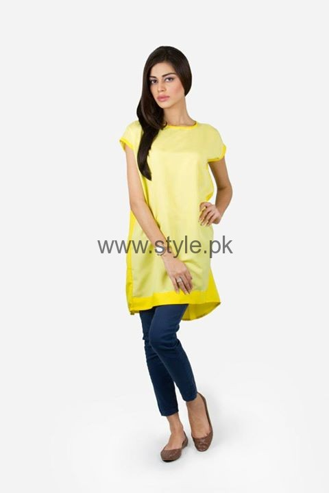 Latest Yellow summers tops for Women 2016 (4)