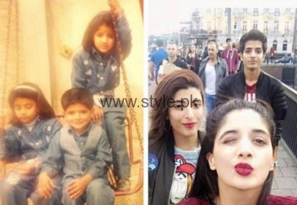 Mawra Hocane Urwa Hocane Ins E Yazdan Childhood