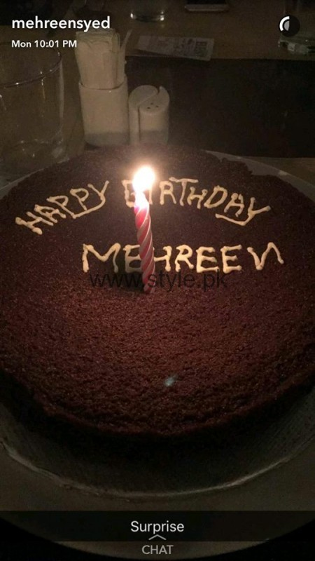 Mehreen Syed celebrating her birthday (1)