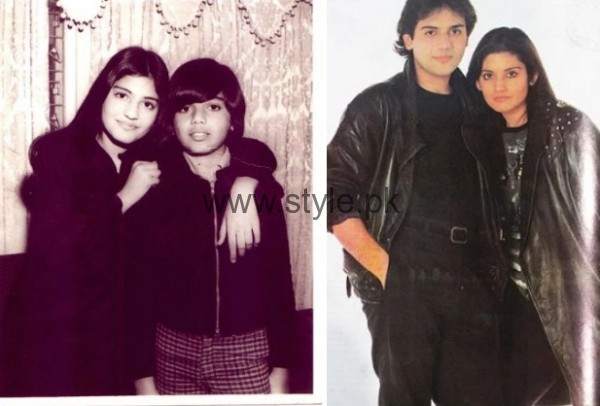 Nazia Hassan and Zohaib Hassan Childhood