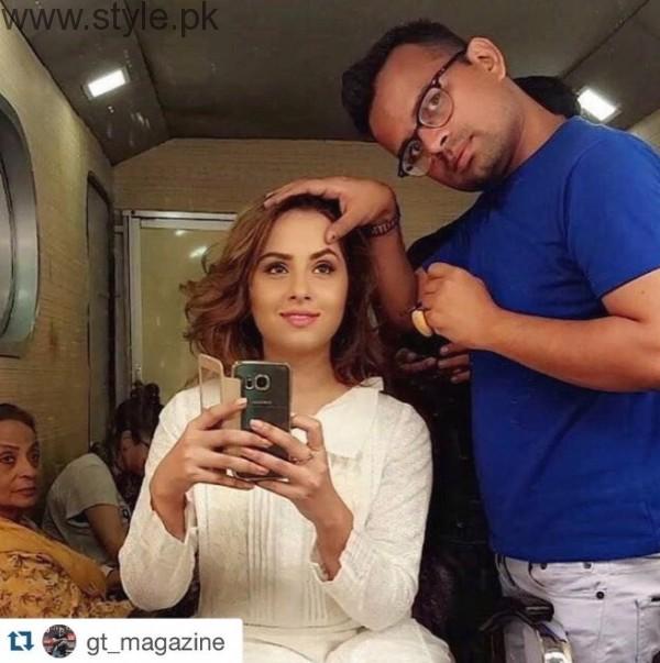 Nimra Khan Makeup Artist
