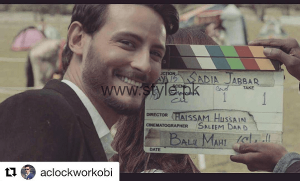 Pictures from Pakistani Movie Balu Mahi (10)