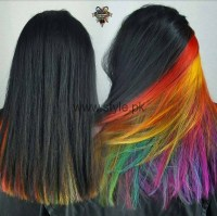 Surprise Hair Colors: Secret Rainbow Underneath Hair