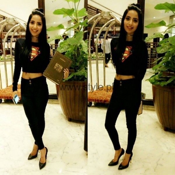Saboor Ali At Actor In Law Music Launch