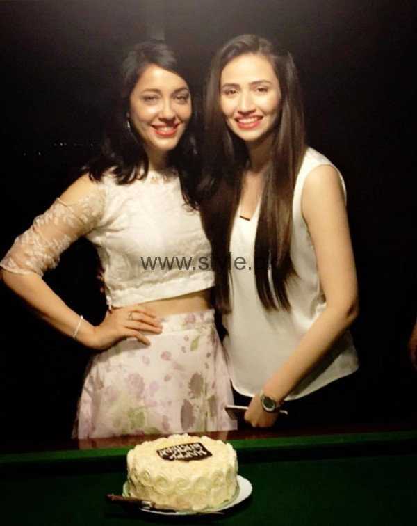 Sana Javed at Shazia Naz birthday
